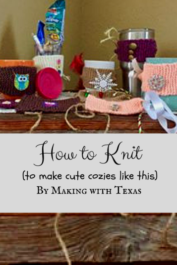 CANVA How to Knit