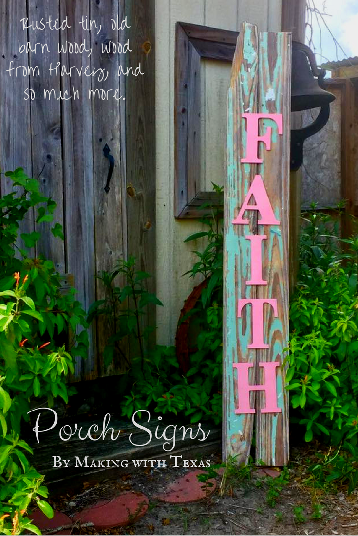 CANVA Porch Signs