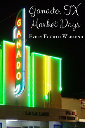CANVA Ganado, TX Market Days