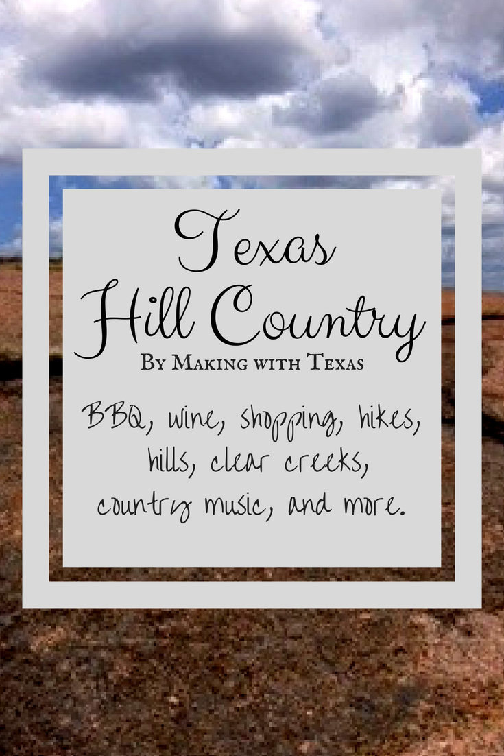 CANVA Texas Hill Country
