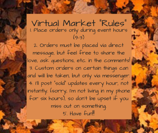 Virtual Market _Rules_