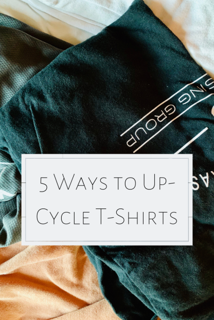 5 ways to up-cycle t-shirts