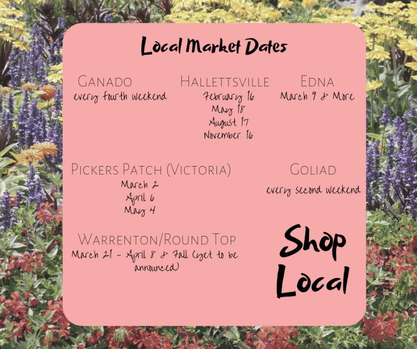 local market dates
